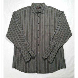 BEN SHERMAN Button Down Shirt French Cuff 1522E1M